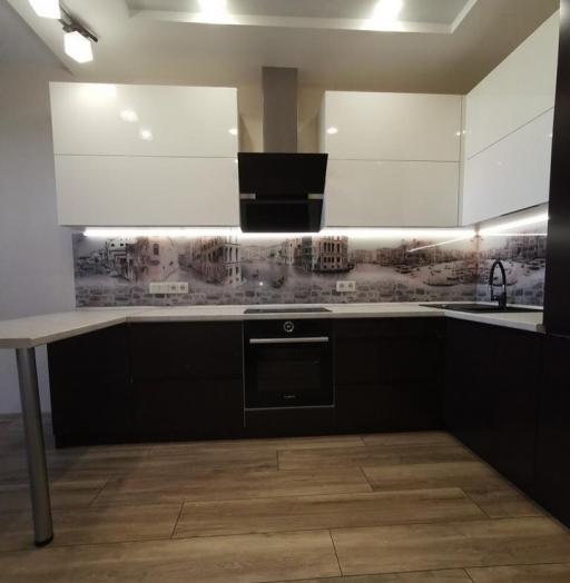 -Кухня МДФ в пленке ПВХ «Модель 93»-фото3