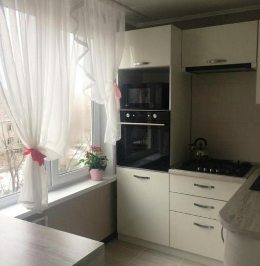 -Кухня из пластика «Модель 384»-фото3
