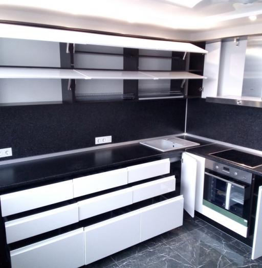 -Кухня МДФ в эмали «Модель 430»-фото14