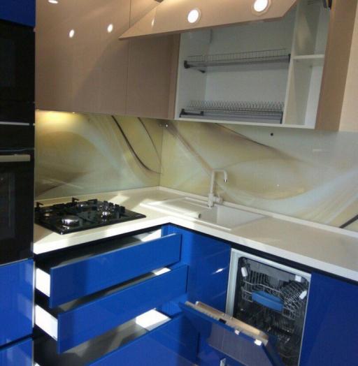 -Кухня МДФ в эмали «Модель 164»-фото8