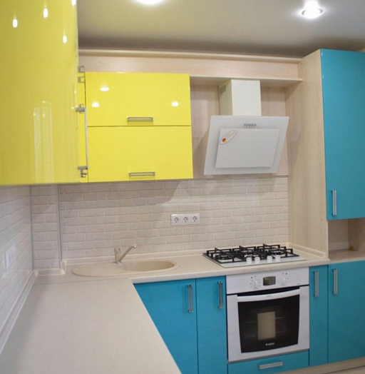 -Кухня МДФ в эмали «Модель 167»-фото20