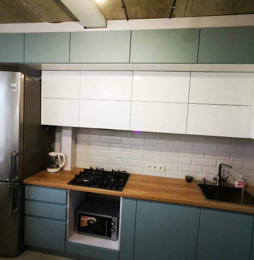 -Кухня МДФ в эмали «Модель 624»-фото24
